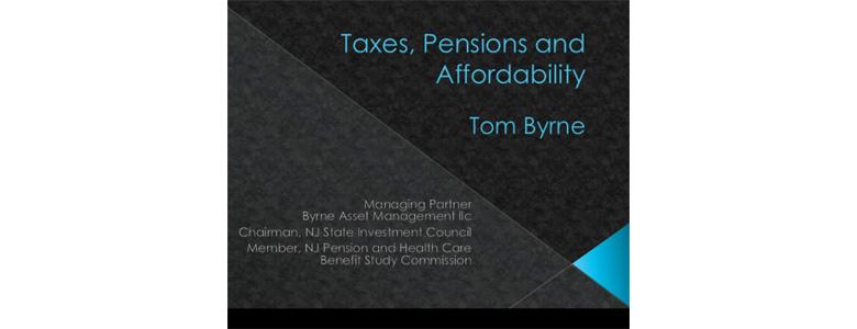 Pension presentation
