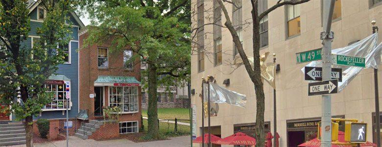 195 Nassau and 1 Rockefeller Plaza
