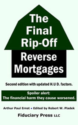 Reverse mortgage book